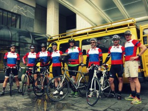 Team #3010 - day 1 on the bikes